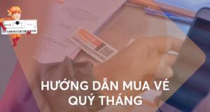 Hướng dẫn Mua vé tháng/quý Thu phí không dừng ePass